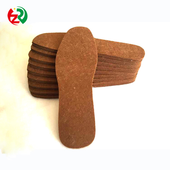 High quality wool shoe insole comfortable felt insoles non-slip made in China