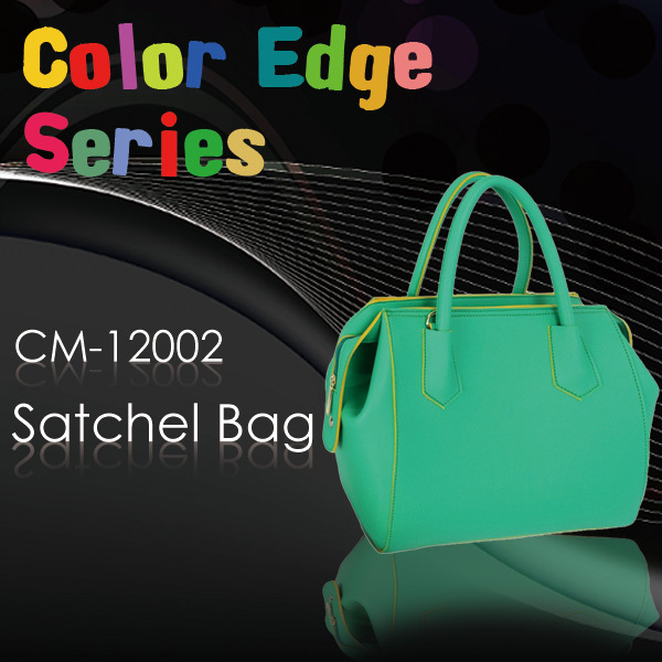 Large Tote Bag in Light Green, Optional Shoulder Strap