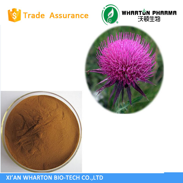 China GMP factory supply high quality Milk thistle extract powder