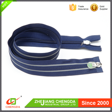 CHENGDA Wholesale Cheap Open-End Eco-Friendly No.3 Long Chain Nylon Zippers