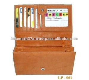RFID PROTECTED GENUINE LEATHER WOMAN WALLET