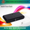 2013 newest hot selling 12000mah power bank/portable battery charger with accessories
