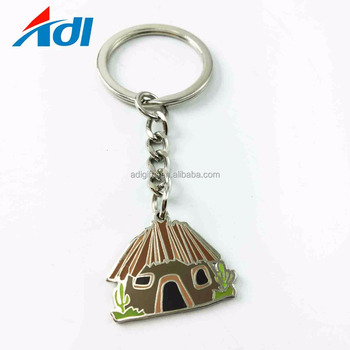 Small quantities custom zinc alloy metal keychains chain for keychains
