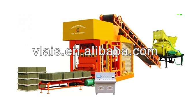concrete hollow block brick machines for small industries made in china for QT4-26