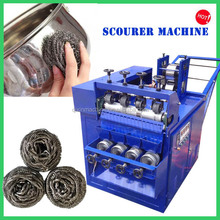 Manufacturing stainless steel wool scrubber machine for sale