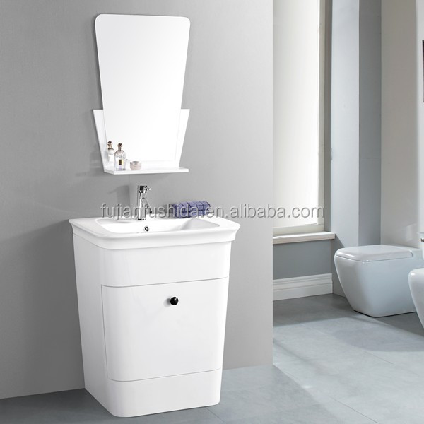 pvc bathroom cabinet,single basin , middle east country market