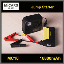 12v car battery charger 16800Mah MC10 jump starter portable air compressor