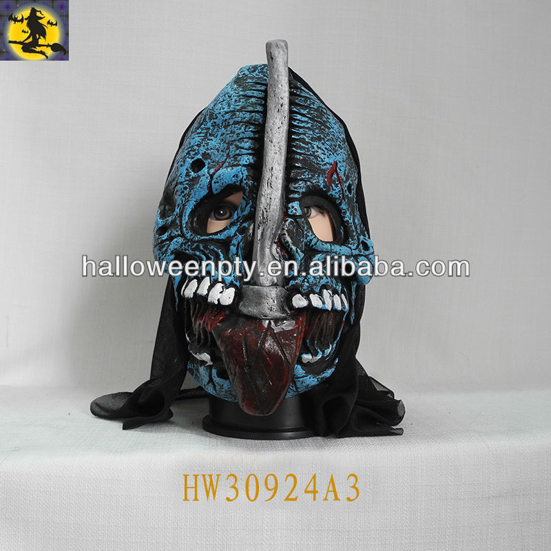 Halloween Scary Horror Ugly Devil Latex Mask