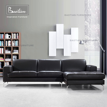 Italy Style Sofa Leather Sofa for Modern Living room Use