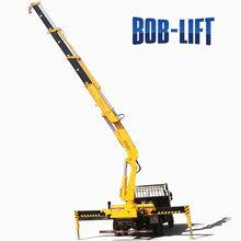 10 Ton construction truck mounted crane with low price