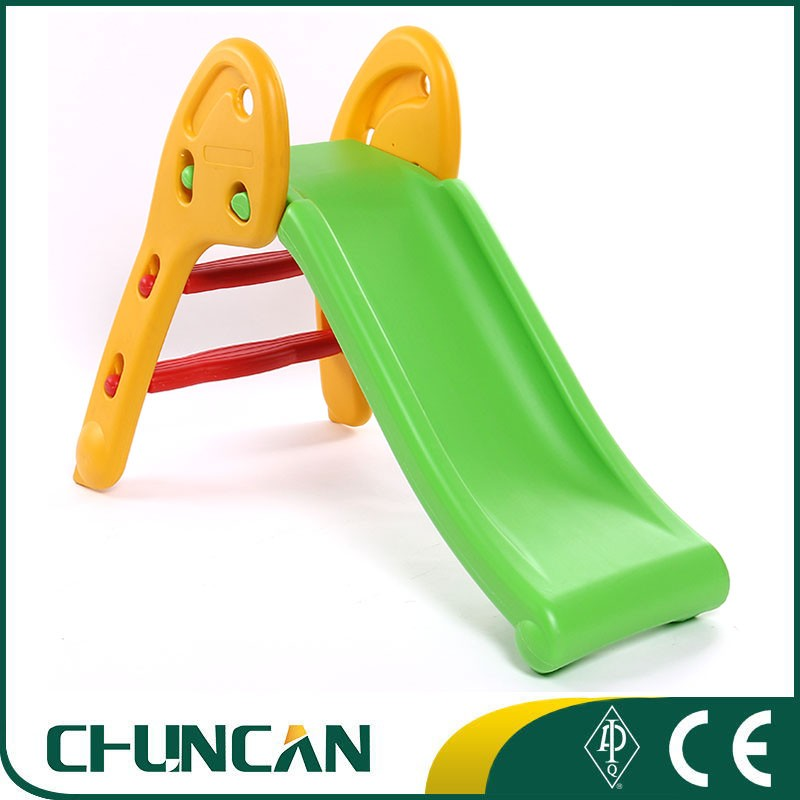 Plastic <strong>slide</strong> for kids foldable indoor small <strong>slide</strong> children's plastic sliding toys blowing