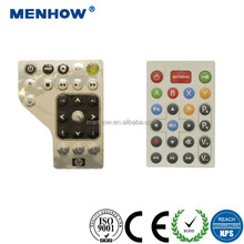 professional customized conductive numerical silicone keypad manufacturer