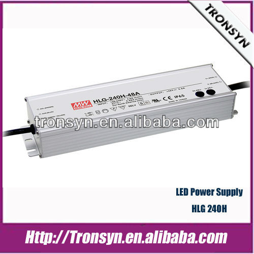 Meanwell 240w high power led driver HLG-240H 240W IP67/IP65