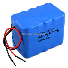 12V lithium battery pack with 11Ah for car battery