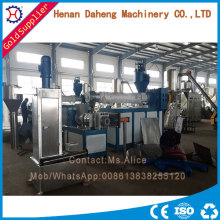 Two Stage Water Cooling Recycle Plastic Granules Making Machine Price