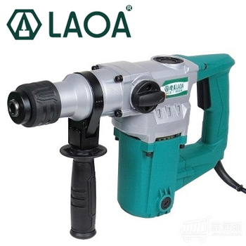 LAOA double use electric cordless rotary hammer drill