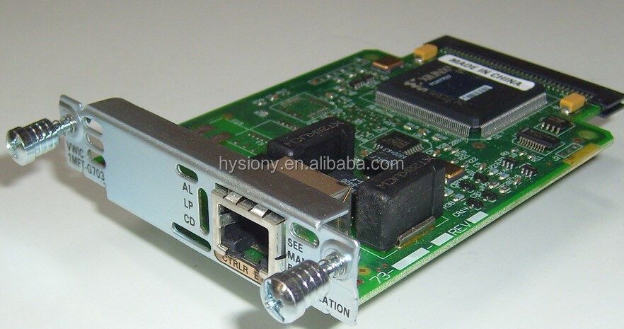 Module CISCOSeries VWIC2-2MFT-G703 Router mạng HWIC VWIC VIC Modules