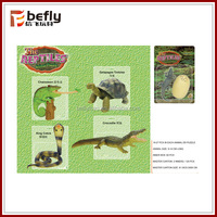 Realistic assemble reptile toys