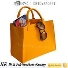 Latest Hot Selling!! China felt shopping bag with good prices felt bag