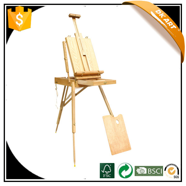 Sketch box easel Wooden painting easel Wooden easel Studio Art Sketch easel Painting Stand Artist Adjust Wooden Easel Stand
