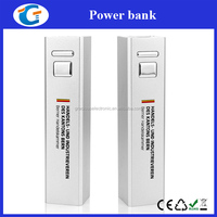 cylinder power bank 2600mah manual for battry power bank