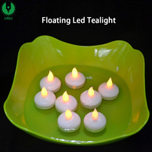 2017 Hot Sell Waterproof Flickering Tea Light LED Fake Candle