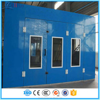 Spray Booth Auto Workshop Painting Equipment (professional manufacturer, CE, 2 years warranty time)