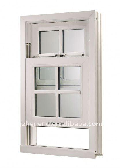 Pvc scorrimento verticale finestra a ghigliottina finestra in pvc vetrino id prodotto 481205700 - Finestre a ghigliottina ...