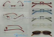 Rimless TR90 reading glasses,flexible reading glasses,CE/FDA certification