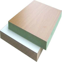 12mm 15mm 18mm melamine faced mdf board / slot mdf / waterproof mdf board
