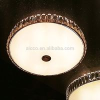 AICCO Modern Crystal Ceiling Lamp, Home Indoor LED Ceiling Lighting Lamp 22597