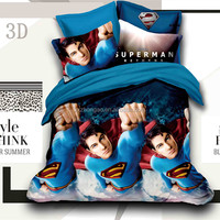 3D Cartoon Printed Kids Bedding Sets