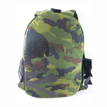 wholesale green running waxed canvas military tactical backpack