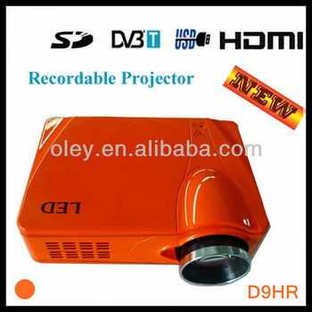 Digital TV Projector HD DTV Projektor with HDMI support full hd 1080p