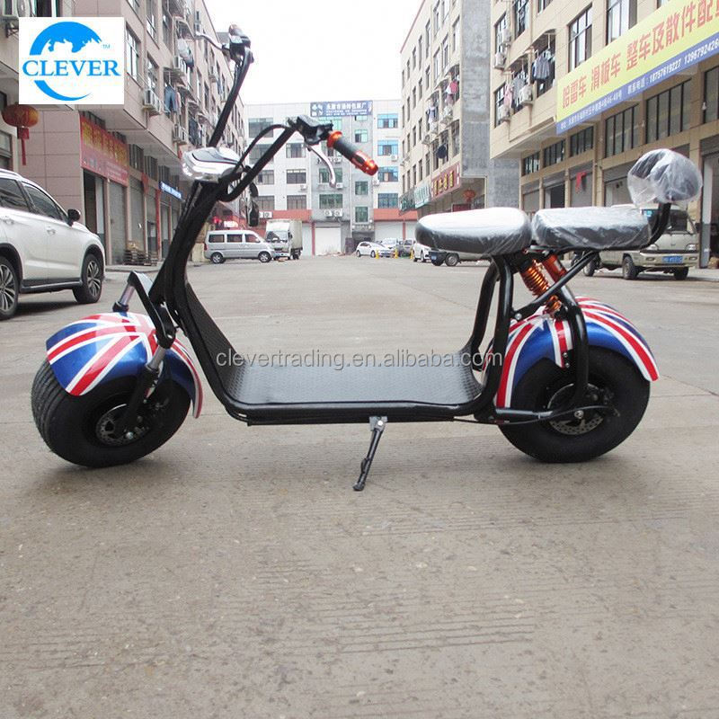 China Factory Wholesale New Model 2017 Latest Motorbikpopular New Arriver E City Scooter