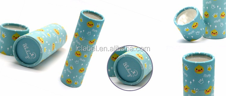 Customized cylindrical round cylinder cardboard paper gift box cardboard cylinder packaging boxes with clear window
