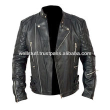 2014 Men's Latest Design Brand Motorbike Leather jackets