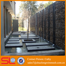 AHS 660-829 pvc coated gabion box with Short Leadtime