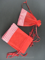 custom printed organza gift bags/organza pouch Manufacturers