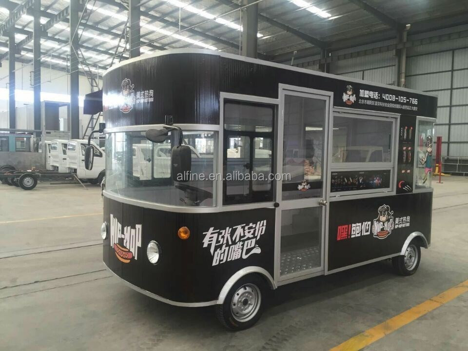New Design Electric Mobile Food bus