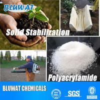 Hot Sale Anionic Polyacrylamide PAM Polymer For Soil Stabilization