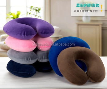 2015 design High Quality and cheapest memory foam neck pillow