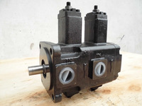 China supplier Parallel key Hydraulic double Vane Pump