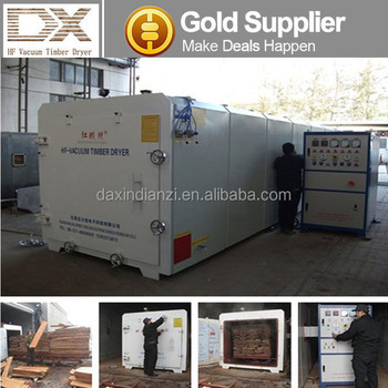High Frequency Vacuum Wood Timber Lumber dehydrator