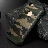 Camouflage siliocne phone case for iphone6