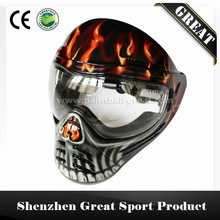 Ghost Skull Mask for Paintball Mask or Airsoft Mask or Speed Boat Mask