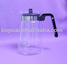 1200ml glass water jug, water pitcher