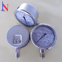 Stainless Steel Hydraulic Oil Filled Pressure Gauge