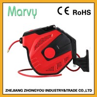 20m Compressed Air retractable pvc pipe wall mount