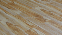 composite handscrape white color oak wooden laminated flooring